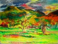 <i>Mt Norwottuck and Apple Trees</i>