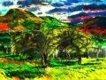 <i>Mt. Norwottuck and Apple Trees</i>