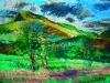 <Mt. Norwottuck and Apple Tree>
