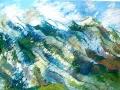 <i>Mountain with Bluebird</i>